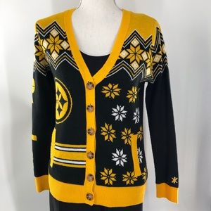 NFL Steelers Cardigan Sweater